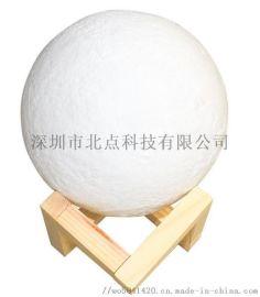 ****3D小夜灯生日礼物月球灯USB充电个性定制