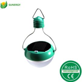 光行者绿色帐篷太阳能手提灯野营灯草坪灯 2档亮度