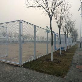 廠家定做學校球場圍網 ,4米高體育場圍欄,鐵絲勾花圍網