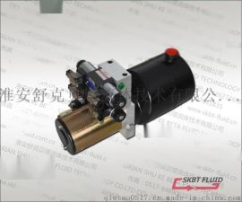 24V电机2.1KW,电磁阀电压24V,油箱5L,2组双作用电磁阀,压力16