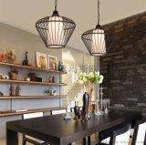 餐厅茶楼吊灯创意个性新中式吊灯铁艺鸟笼灯吧台会所美式鸟笼吊灯MS-P6038