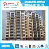 批发平板阳台壁挂太阳能热水器ISO9001认证