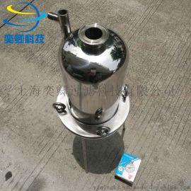 上海正压过滤器 316不锈钢机械过滤器 小型实验用