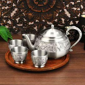 吉象锡器  泰国茶具 商务 艺术 收藏  庆典 礼仪 赠礼