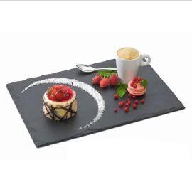板岩餐盘创意酒店石板餐垫石头寿司托盘西餐厅牛肉披萨盘促销