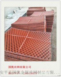 现货销售低碳喷塑钢板网