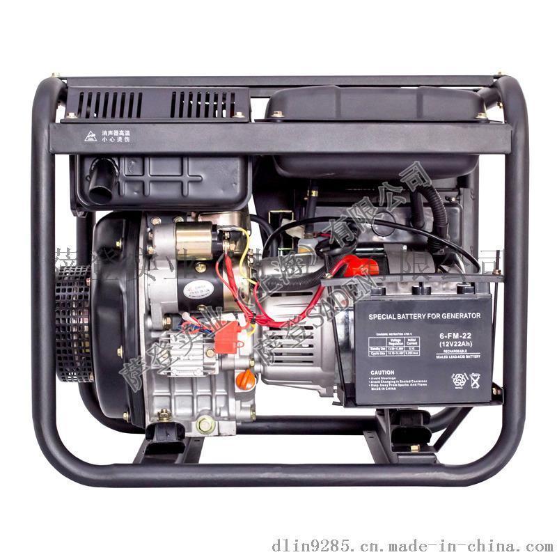 萨登2KW柴油发电机DS2000K小型家用卡车货车空调