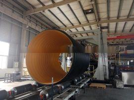 DN500HDPE钢带增强波纹管 排水管