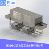 高壓噴淋洗筐機 自動冷熱水洗筐機 隧道式洗筐機