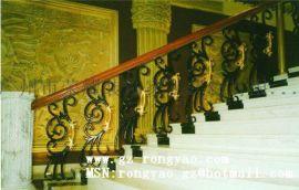 酒店楼梯护栏 楼梯铁栏杆 别墅室内栏杆定制