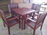 广州户外木制家具 休闲实木桌椅 实木花园套椅 豪华餐椅