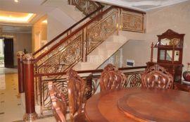 浙江铝艺楼梯护栏 铝合金楼梯应用领域