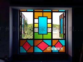 中式满洲窗花定制 复古满洲窗定制