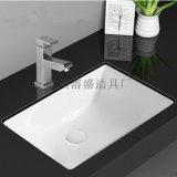 衛浴正品洗手間陶瓷洗手盆臺下盆方形臺下盆洗面盆