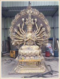 铜雕佛像厂家,浙江正圆大型铜雕佛像厂 生产定做