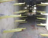 高强度玻璃钢支架 抗压整体式托架