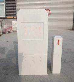 SMC模压玻璃钢交通标志桩安全标志牌自然防盗