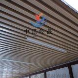 方管转印 木纹天花吊顶 型材转印铝方管