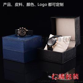 厂家直销表盒现货**PU皮手表盒首饰盒礼品盒包装盒
