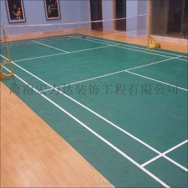 羽毛球場,籃球場地坪,宏力達地坪裝飾