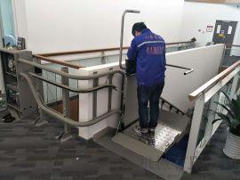 自动导轨电梯重庆启运楼梯无障碍平台升降设备厂家