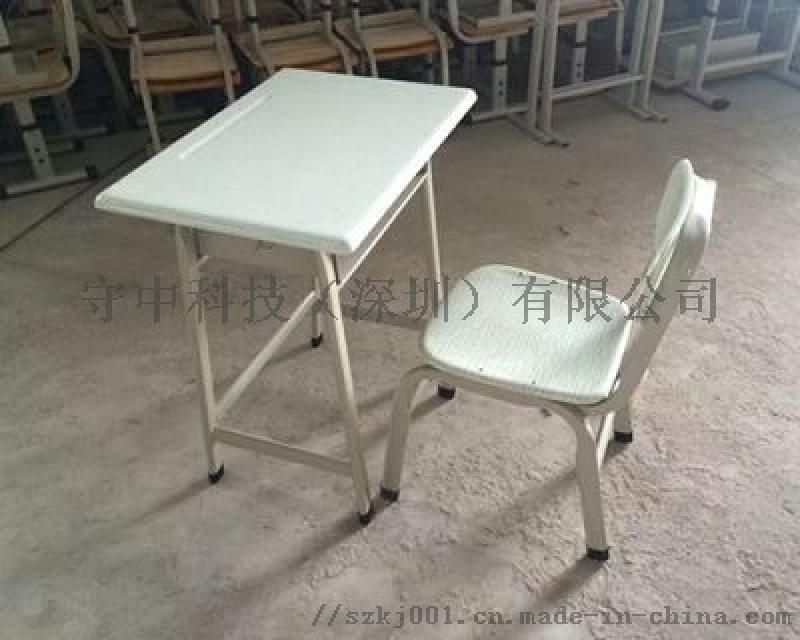 供应龙华区高中学教室课桌椅*实验学校学生课桌椅