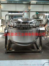 重诺500L卤肉蒸煮锅 蒸汽夹层锅