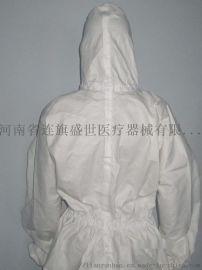 一次性防喷服 覆膜无纺布防护服  一次性防护服