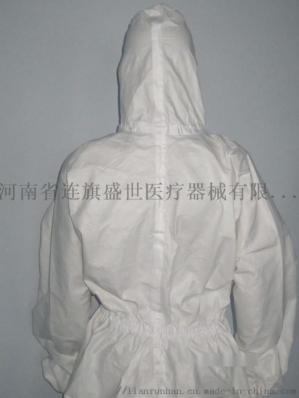 一次性防噴服 覆膜無紡佈防護服  一次性防護服