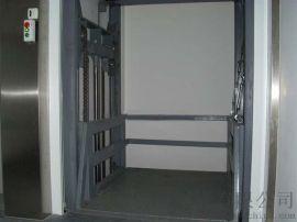液压升降台导轨式货梯固定升降平台长春市启运销售