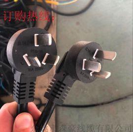 【专业电源线制造商】国标三插标准电源线带插头线