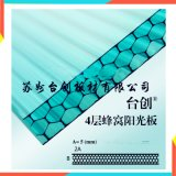巴中市12mm工程陽光板 16mm溫室板