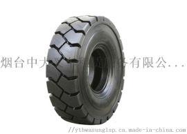 青岛机场平板拖车/电动牵引车实心轮胎