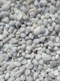 大同白色鹅卵石铺路 永顺装饰用白色鹅卵石多少钱