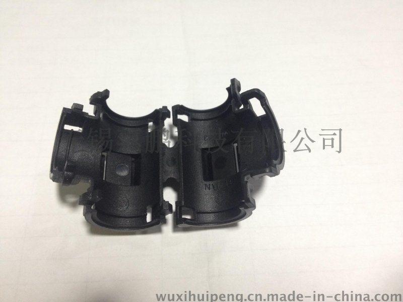 KT塑料波纹管可打开式三通接头  T型 尼龙PA66 等径