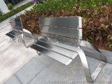 四川成都重庆不锈钢公园长椅户外休闲坐凳小区广场花箱