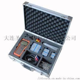 **圣世援+手持式超声波流量计TUF-2000H+液体流量计