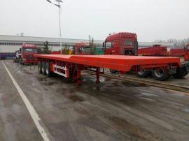 生产平板式半挂运输车,大件货物运输车
