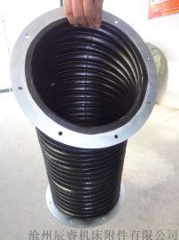 伸缩式液压缸护罩 沧州液压缸护罩