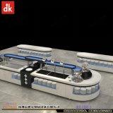 移动自助餐台效果图布局设计 移动布菲车设计