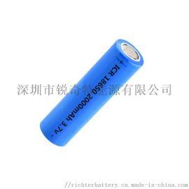 手持USB小风扇电池18650充电锂电池