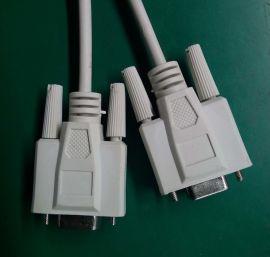 DB9连接线 串口线 打印线 D-sub9P线