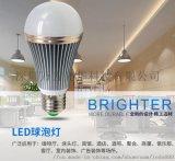 led球泡燈e27螺口節能燈螺旋塑包鋁球泡