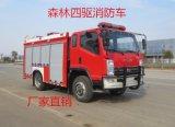 新款四驱森林水罐消防车|消防车厂家