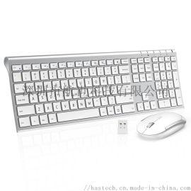 键盘厂家 三键区2.4G无线键鼠套装HW192