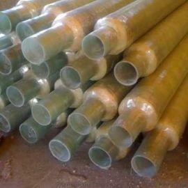 **玻璃钢保温管,聚乙烯玻璃钢缠绕保温管