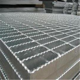 淮安齿形车间防滑钢格板工厂供应热浸锌楼梯踏步格栅板