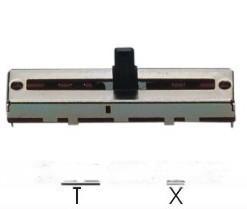 铁壳直滑式电位器(C2031N-A)