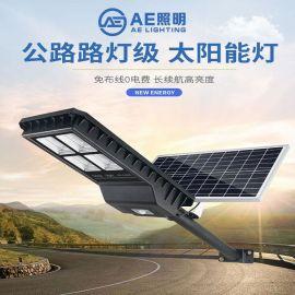 AE照明 90W  太阳能路灯 工程超亮 户外防水 庭院灯  新农村家用太阳能路灯   高杆太阳能路灯