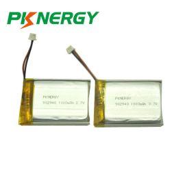 厂家定制聚合物锂电池902940 1000MAH 3.7V 相机 摄像机动力电池